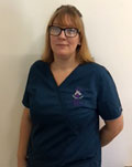 Kerri Jackson, support team at Abbey Veterinary Centre