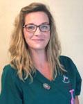 Abigail Charteris, head nurse at Abbey Veterinary Centre