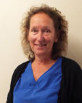 Debbie Fallows, support team at Abbey Veterinary Centre