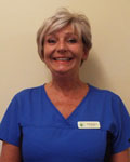 Julie Kingston, support team at Abbey Veterinary Centre