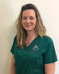 Abigail Charteris, head nurse at Abbey Veterinary Centre